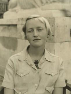 Rhoda Mary Napier Fraser (née Jupp), by Bassano Ltd - NPG x85484