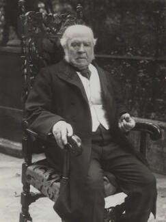 Hardinge Stanley Giffard, 1st Earl of Halsbury, by Bassano Ltd, 1914 - NPG x85494 - © National Portrait Gallery, London