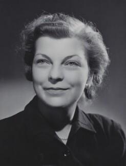 Patricia Kenward (née Monsell), by Bassano Ltd - NPG x85556