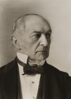 William Ewart Gladstone, by Alexander Bassano - NPG x85592