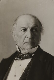 William Ewart Gladstone, by Alexander Bassano - NPG x85593