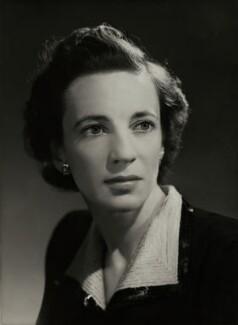 Fiona Agar (née Pratt), Countess of Normanton, by Bassano Ltd - NPG x85607