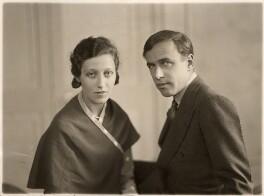 Amy Johnson; James Allan Mollison, by Bassano Ltd, 10 May 1932 - NPG x85650 - © National Portrait Gallery, London