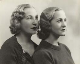 Dawn Owen; Pat Owen, by Bassano Ltd, March 1937 - NPG x85654 - © National Portrait Gallery, London