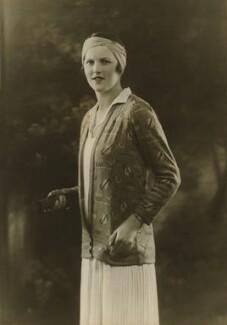 Joan Cowell O'Meara (née Ridley), by Bassano Ltd - NPG x85657