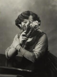 Hilda Trevelyan (Hilda Marie Antoinette Anna Tucker), by Bassano Ltd - NPG x85668