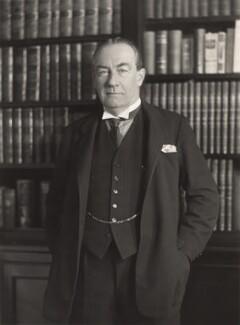 Stanley Baldwin, 1st Earl Baldwin, by Bassano Ltd - NPG x85672