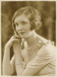 June (née Howard-Tripp), Lady Inverclyde, by Bassano Ltd - NPG x85682