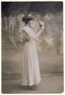 Mamie Whittaker, by Bassano Ltd - NPG x85690
