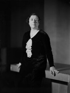 Wilhelmina Stitch (Ruth Collie), by Howard Coster - NPG x93855