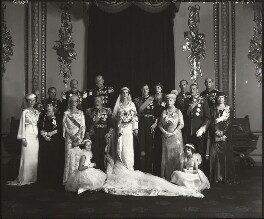 Royal group including George V and Queen Mary, by Bassano Ltd - NPG x95792