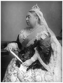 Queen Victoria, by Alexander Bassano, 1882 - NPG x95819 - © National Portrait Gallery, London