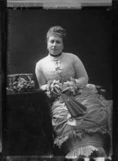 Princess Helena Augusta Victoria of Schleswig-Holstein, by Alexander Bassano - NPG x95871
