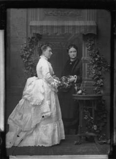 Princess Helena Augusta Victoria of Schleswig-Holstein; Magdalen Wellesley (née Montagu), by Alexander Bassano - NPG x95877
