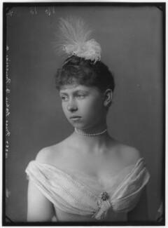 Sophie, Queen of Greece (née Princess Sophie of Prussia), by Alexander Bassano - NPG x95903