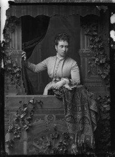 Princess Alice, Grand Duchess of Hesse, by Alexander Bassano - NPG x95926