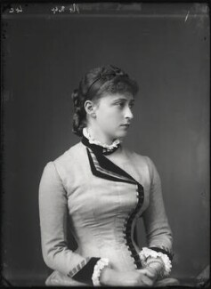 Princess Elizabeth Feodorovna, Grand Duchess Serge of Russia, by Alexander Bassano - NPG x95948