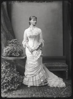 Princess Elizabeth Feodorovna, Grand Duchess Serge of Russia, by Alexander Bassano - NPG x95949