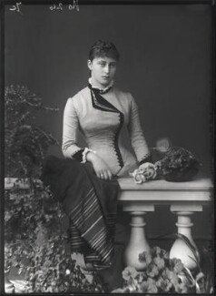 Princess Elizabeth Feodorovna, Grand Duchess Serge of Russia, by Alexander Bassano - NPG x95950