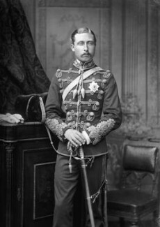 Prince Arthur, 1st Duke of Connaught and Strathearn, by Alexander Bassano - NPG x95962