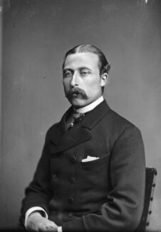 Prince Arthur, 1st Duke of Connaught and Strathearn, by Alexander Bassano - NPG x95971