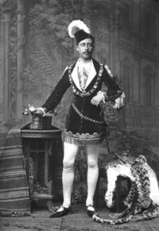Prince Arthur, 1st Duke of Connaught and Strathearn as a fairy prince, by Alexander Bassano - NPG x95975