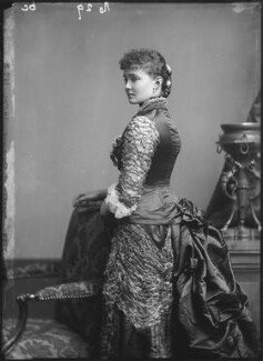 Princess Louise, Duchess of Connaught (née Princess of Prussia), by Alexander Bassano - NPG x95977