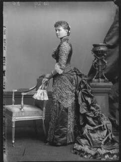 Princess Louise, Duchess of Connaught (née Princess of Prussia), by Alexander Bassano - NPG x95978