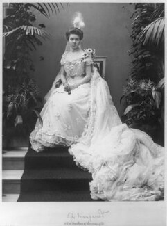 Margaret, Crown Princess of Sweden, by Alexander Bassano, early 1900s - NPG  - © National Portrait Gallery, London