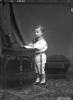 Prince Alfred of Saxe-Coburg and Gotha, by Alexander Bassano, 1879 - NPG x95982 - © National Portrait Gallery, London