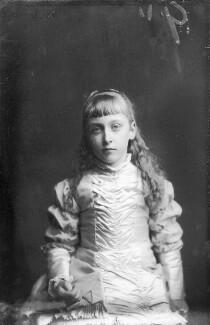 Princess Helena Victoria of Schleswig-Holstein, by Alexander Bassano - NPG x96017