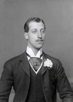 Prince Albert Victor, Duke of Clarence and Avondale, by Alexander Bassano - NPG x96029
