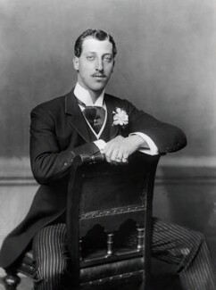 Prince Albert Victor, Duke of Clarence and Avondale, by Alexander Bassano - NPG x96031