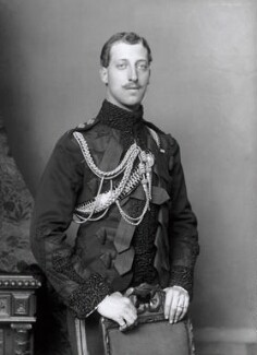 Prince Albert Victor, Duke of Clarence and Avondale, by Alexander Bassano - NPG x96033