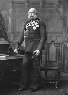 Prince George William Frederick Charles, 2nd Duke of Cambridge, by Alexander Bassano, circa 1889 - NPG x96062 - © National Portrait Gallery, London