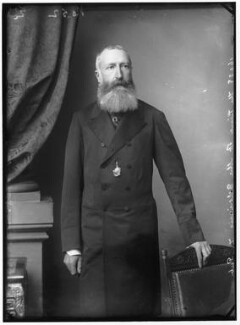 Leopold II, King of the Belgians, by Alexander Bassano - NPG x96080