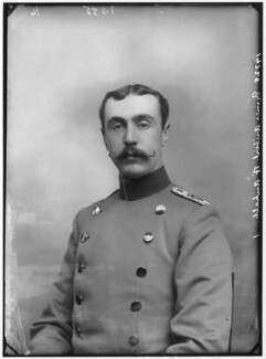 Prince Aribert of Anhalt, by Alexander Bassano, 1890 - NPG x96083 - © National Portrait Gallery, London