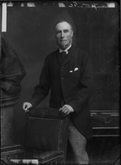 Thomas George Baring, 1st Earl of Northbrook, by Alexander Bassano - NPG x96152