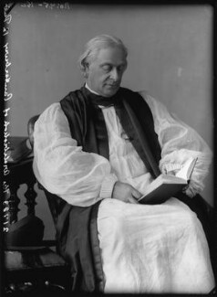 Edward White Benson, by Alexander Bassano - NPG x96175