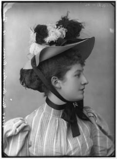 Priscilla Cecilia (née Moore), Countess Annesley, by Alexander Bassano, circa 1891 - NPG x96211 - © National Portrait Gallery, London