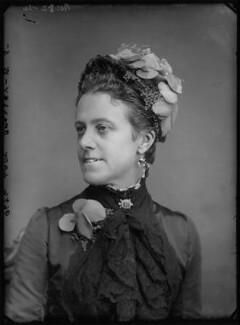 Anna (née Allnutt), Lady Brassey, by Alexander Bassano - NPG x96216