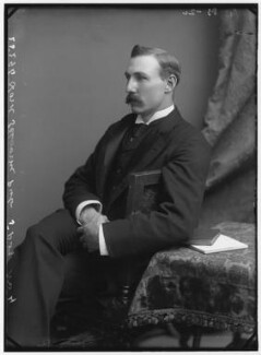 William Waldegrave Palmer, 2nd Earl of Selborne, by Alexander Bassano - NPG x96222
