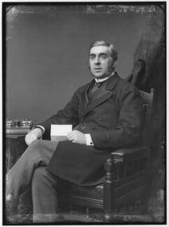 George Joachim Goschen, 1st Viscount Goschen, by Alexander Bassano - NPG x96253