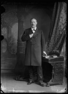 Evelyn Baring, 1st Earl of Cromer, by Alexander Bassano - NPG x96259