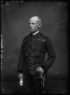 Frederick Sleigh Roberts, 1st Earl Roberts, by Alexander Bassano, early 1890s - NPG x96269 - © National Portrait Gallery, London