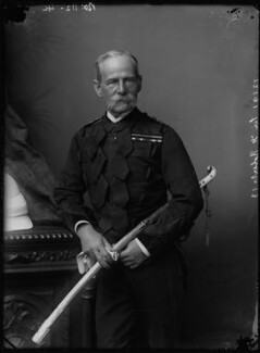 Frederick Sleigh Roberts, 1st Earl Roberts, by Alexander Bassano, early 1890s - NPG x96270 - © National Portrait Gallery, London