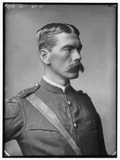 Herbert Kitchener, 1st Earl Kitchener, by Alexander Bassano - NPG x96286