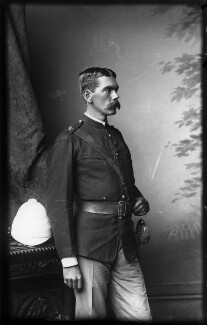 Herbert Kitchener, 1st Earl Kitchener, by Alexander Bassano - NPG x96300
