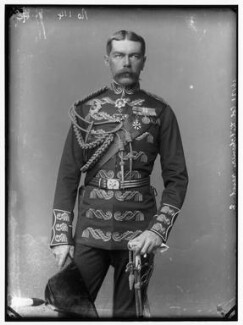 Herbert Kitchener, 1st Earl Kitchener, by Alexander Bassano - NPG x96303