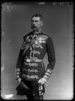 Herbert Kitchener, 1st Earl Kitchener, by Alexander Bassano - NPG x96304